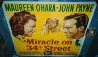 MIRACLE ON 34TH STREET ('47) linen 6sh