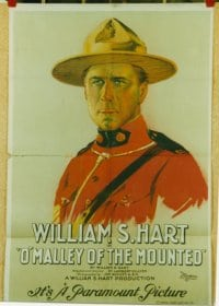 O'MALLEY OF THE MOUNTED ('21) linen 1sheet