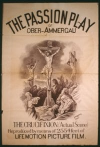 PASSION PLAY (1898) 1sheet