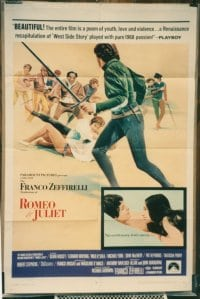 ROMEO & JULIET ('69) linen 1sheet