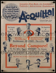 Cool Item Of the Week: The Acquittal pressbook