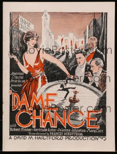 Cool Item Of the Week: Dame Chance pressbook