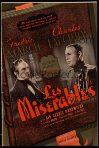 Cool Item Of the Week: Les Miserables (1935) pressbook
