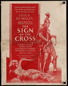 Cool Item Of the Week: Sign of the Cross pressbook