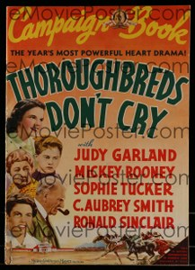 Cool Item Of the Week: Thoroughbreds Don't Cry pressbook