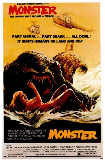 HUMANOIDS FROM THE DEEP: 1sheet