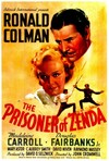 051 PRISONER OF ZENDA ('37) linen 1sheet