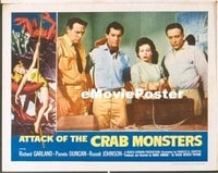 VHP7 331 ATTACK OF THE CRAB MONSTERS lobby card '57 in laboratory!