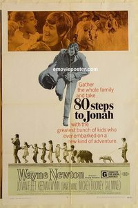 1704 80 STEPS TO JONAH one-sheet movie poster '69 Wayne Newton