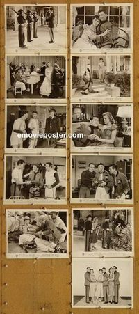 5829 ABOUT FACE 11 vintage 8x10 stills '52 Gordon MacRae, Bracken
