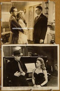 6163 ACTION IN THE NORTH ATLANTIC 2 vintage 8x10 stills '43 Bogart