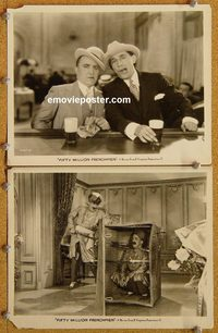 6162 50,000,000 FRENCHMEN 2 vintage 8x10 stills '31 Olsen & Johnson!