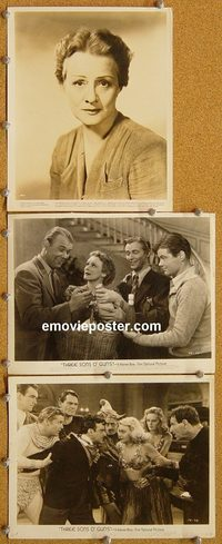 6146 THREE SONS O' GUNS 3 vintage 8x10 stills '41 Marjorie Rambeau