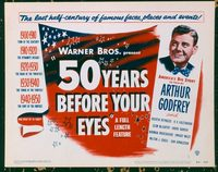 1101 50 YEARS BEFORE YOUR EYES title lobby card '50 Arthur Godfrey