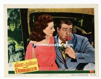 #046 ABBOTT & COSTELLO MEET FRANKENSTEIN lobby card #8 '48 love!!