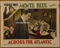 2303 ACROSS THE ATLANTIC lobby card '28 Monte Blue