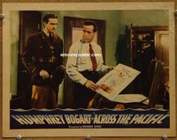 2106 ACROSS THE PACIFIC lobby card '42 Humphrey Bogart