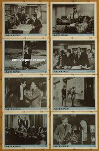 3600 ACT ONE 8 lobby cards '64 George Hamilton, Jason Robards
