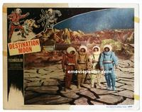 #288 DESTINATION MOON lobby card '50 astronauts on the moon!!