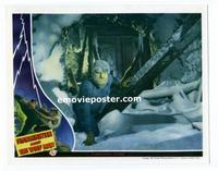 #017 FRANKENSTEIN MEETS THE WOLF MAN #3 lobby card '43 Lon Chaney!