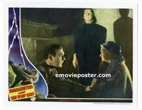 #019 FRANKENSTEIN MEETS THE WOLF MAN #5 lobby card '43 Bela & Lon!