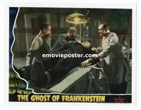 #011 GHOST OF FRANKENSTEIN #5 lobby card '42 Ygor with monster!!
