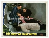 #013 GHOST OF FRANKENSTEIN #7 lobby card '42 Hardwicke, Ankers!