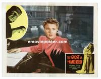 #078 GHOST OF FRANKENSTEIN lobby card #4 R48 Ankers close up!!