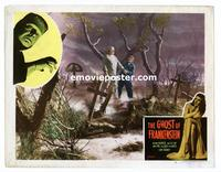 #074 GHOST OF FRANKENSTEIN lobby card #5 R48 graveyard scene!!