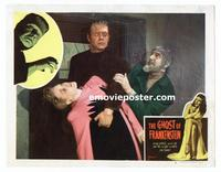 #072 GHOST OF FRANKENSTEIN lobby card #6 R48 Chaney, Lugosi c/u!!