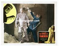 #075 GHOST OF FRANKENSTEIN lobby card #8 R48 monster released!!