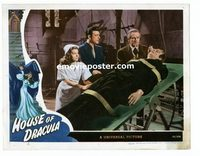 #034 HOUSE OF DRACULA #4 lobby card '45 Chaney & Frankenstein!!