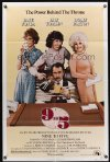 0873FF 9 TO 5 1sh '80 great image of Dolly Parton, Jane Fonda, and Lily Tomlin!