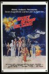 0669FF BATTLE BEYOND THE STARS int'l 1sh '80 cool completely different sci-fi cast portrait!