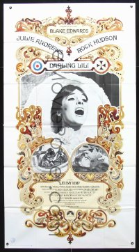 0792FF DARLING LILI 3sh '70 Julie Andrews, Rock Hudson, Blake Edwards, William Peter Blatty