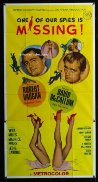 0804FF ONE OF OUR SPIES IS MISSING 3sh '66 Robert Vaughn, David McCallum, The Man from UNCLE!