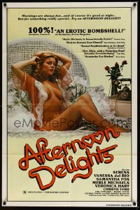 0875FF AFTERNOON DELIGHTS 1sh '80 very sexy Serena is fun in the morning & good at night too!