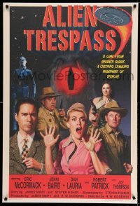 2012UF ALIEN TRESPASS poster style 1sh '09 crawling nightmare of terror, can mankind be saved!
