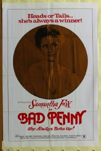 050FF BAD PENNY one-sheet movie poster '78 Samantha Fox