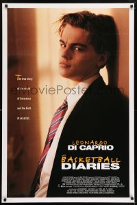 2030UF BASKETBALL DIARIES DS 1sh '95 Leonardo DiCaprio, based on the life of Jim Carroll!