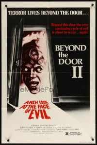 1281FF BEYOND THE DOOR II 1sh '78 Mario Bava's Schock, the cycle of evil is about to occur again!!