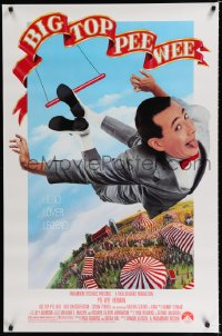 1538UF BIG TOP PEE-WEE 1sh '88 Paul Reubens is a hero, lover & legend, cult classic, great image!