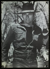 0820UF BILLY JACK commercial poster '71 best close up of Tom Laughlin wearing hat!