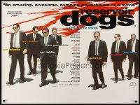 2491UF RESERVOIR DOGS DS British quad '92 Quentin Tarantino, Keitel, Buscemi, Penn, different!