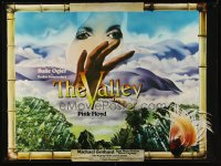 2433UF VALLEY OBSCURED BY CLOUDS 30x40 '72 Barbet Schroeder's La Vallee, music by Pink Floyd