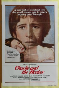081FF CHARLIE & THE HOOKER one-sheet '70s unnatural!