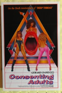 091TF CONSENTING ADULTS one-sheet '82 Gerard Damiano