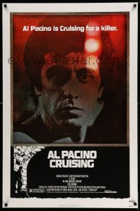 2087UF CRUISING 1sh '80 William Friedkin, undercover cop Al Pacino pretends to be gay!