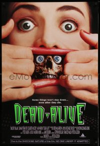 2094UF DEAD ALIVE 1sh '92 Peter Jackson, some things won't stay down even after they die!