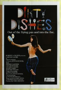 114FF DIRTY DISHES one-sheet poster '78 Joyce Bunuel